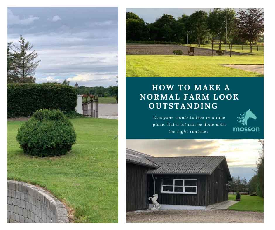 How to make a normal farm look outstanding